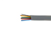 Cat3 Silver Satin Modular Cable, 8 Conductor, 1000 Ft., UL Rated