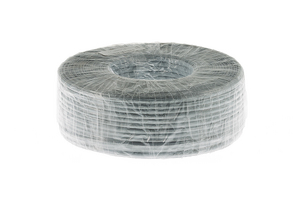 Cat3 Silver Satin Modular Cable, 6 Conductor, 1000 Ft., UL Rated