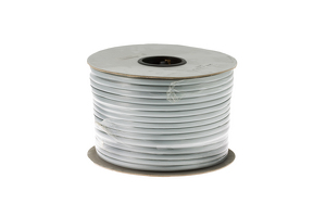 Cat3 Silver Satin Modular Cable, 8 Conductor, 1000 Ft.