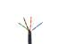 Cat5E Ethernet Cable, 1000' Pull Box, Plenum, Gray
