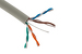 Cat5E Ethernet Cable, 1000' Pull Box, 350MHZ UTP, Gray