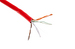 Cat5E Ethernet Cable, 1000' Pull Box, Plenum, Red