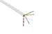 Cat6 Ethernet Cable, 1000' Pull Box, 550MHZ UTP, Plenum, White