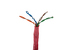 Cat6 Ethernet Cable, 1000' Pull Box, 550MHZ UTP, Stranded, Red