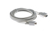 DB9 Male to Male Serial Cable, Gray, 15'