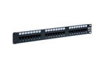 24 Port Cat6 LED Patch Panel