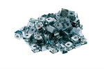 Rack Mount Slide-On Clip Nuts, 10-32, Qty 100