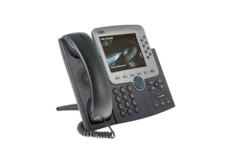 Cisco 7970G Eight Line Color Display Unified IP Phone
