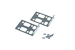 "Cisco PIX-515E 19"" Rack Mount Kit, PIX-515E-HW"