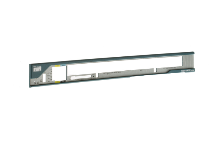 Replacement Faceplate for Cisco 2801 Routers