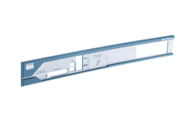 Replacement Faceplate for Cisco 2811 Router
