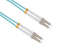 LC-LC 10 Gigabit Multimode Duplex 50/125 Fiber Patch Cable, 12M