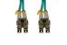 LC-LC 10 Gigabit Multimode Duplex 50/125 Fiber Patch Cable, 15M