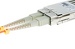 LC to SC Multimode Duplex 50/125 Fiber Patch Cable, 19 Meters