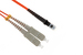 SC to MTRJ Multimode Duplex 50/125 Fiber Patch Cable, 15 Meters