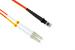 LC to MTRJ Multimode Duplex 62.5/125 Fiber Cable, 30 Meters