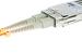 SC to SC Multimode Duplex 62.5/125  Fiber Patch Cable, 13 Meters