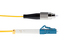 LC to FC Singlemode Duplex 9/125 Fiber Patch Cable, 30 Meters