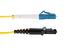 LC to MTRJ Singlemode Duplex 9/125 Fiber Patch Cable, 2 Meters