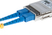 LC to SC Singlemode Duplex 9/125 Fiber Patch Cable, 19 Meters