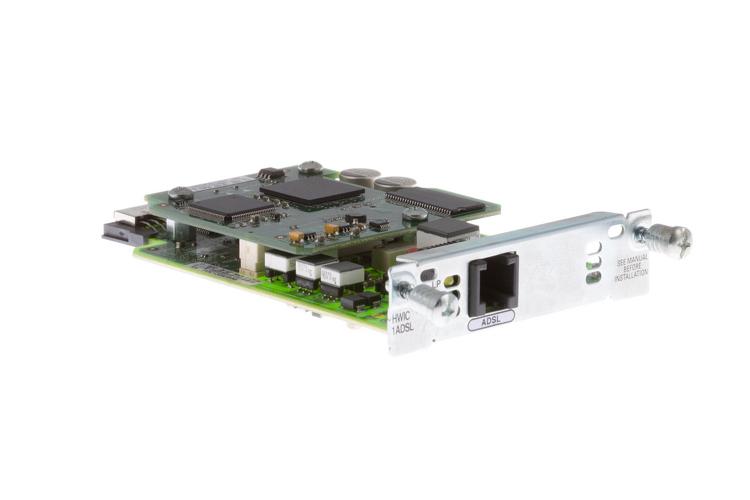 Cisco 1 Port ADSL High-Speed WAN Interface Card, HWIC-1ADSL