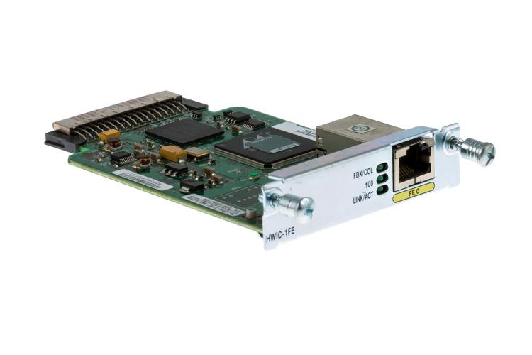 Cisco 2800/3800 Series 1-Port Fast Ethernet Card