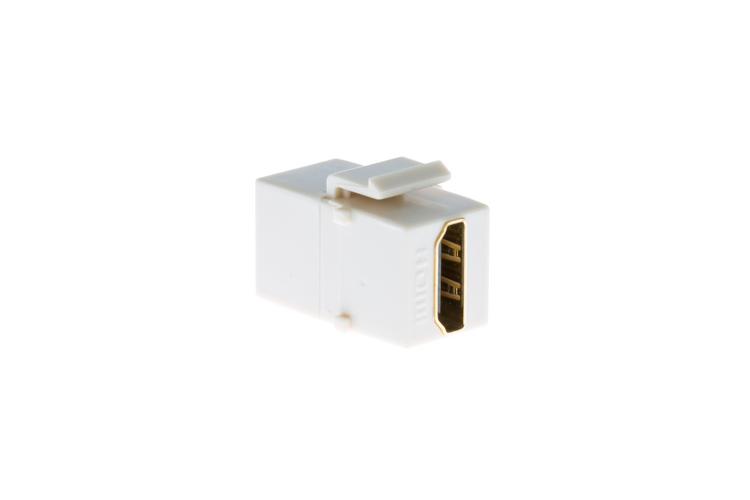 HDMI Keystone Jack, Ivory