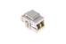 Keystone Snap In LC Fiber Module, White