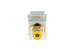 Keystone Snap In Yellow RCA Type F/F Module, White