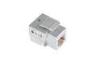 RJ11/RJ12 (Cat 3) Type Keystone Jack, White