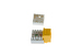 Cat5e RJ45 110 Type Keystone Jack, Yellow
