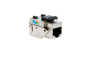 Cat5e RJ45 110 Type Shielded Keystone Jack