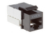 Cat5e RJ45 110 Type Keystone Jack, Black