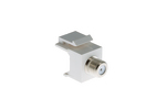 Keystone Snap In F Type F/F Module, White