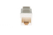 Cat5e RJ45 Inline Coupler Type Keystone Jack, White