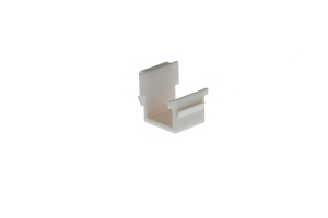 Keystone Snap In Wallplate Blank, White