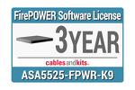 Cisco ASA5525-X FirePOWER IPS, L-ASA5525-TAMC-3Y