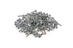 Rack Mount Cage Nut Screws, M6, Qty 100