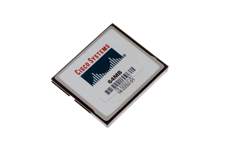 Cisco 1841 64 MB Flash Upgrade, MEM1800-64CF