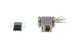 DB9 Male to RJ45 Female Modular Adapter