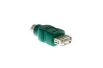 Microsoft USB Female to PS/2 Male Adapter