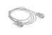 DB9 Female to Female Null Modem Cable, 6'