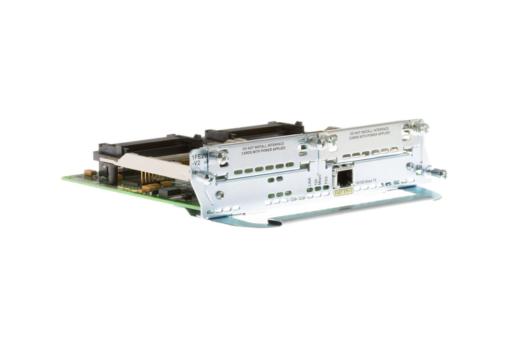 Cisco 1-Fast Ethernet 2-Wic Network Module, NM-1FE2W-V2