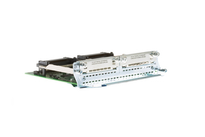 Cisco 2 Slot High Density Voice/Fax Network Module, NM-HD-2VE