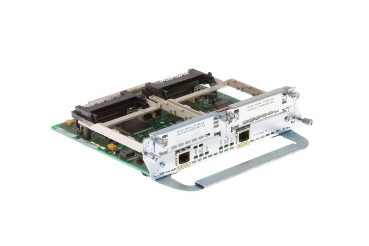 Cisco 2-Fast Ethernet 2-Wic Network Module, NM-2FE2W