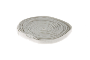 "Velcro One-Wrap Straps, 3/4"" x 18"", Qty 25, Gray"