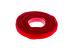 "Velcro One-Wrap Straps, 3/4"" x 8"", Qty 25, Red"