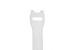 "Velcro One-Wrap Straps, 3/4"" x 8"", Qty 100, White"