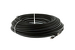 CAT5e Direct Burial Ethernet Patch Cable, Snagless, 300', Black