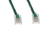 CAT5e Ethernet Patch Cable, Non-Booted, 15 Foot, Green